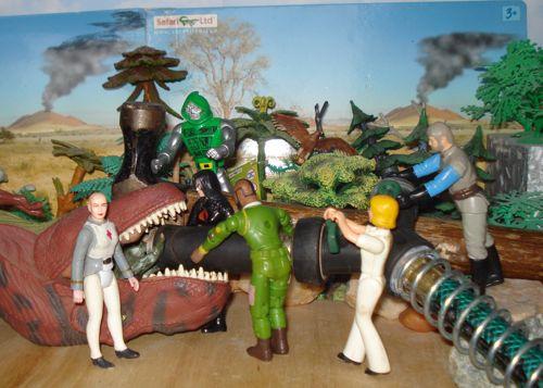 Rexford, Rexford Dinosaur, MR. T, Doctor Doom, SRG, Stegosaurus, Endoscopy, Dinosaur Toys