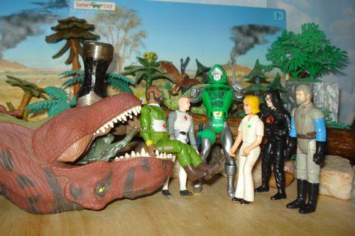 Rexford, Rexford Dinosaur, MR. T, Doctor Doom, SRG, Stegosaurus, Dinosaur Toys