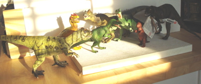Dinosaur Toys Allosaur Pack Evening