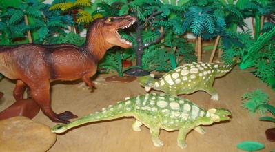 Carnegie Ankylosaurus Dinosaur Toys