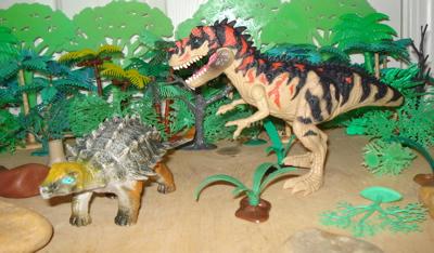 Ankylosaurus Dinosaur Toys