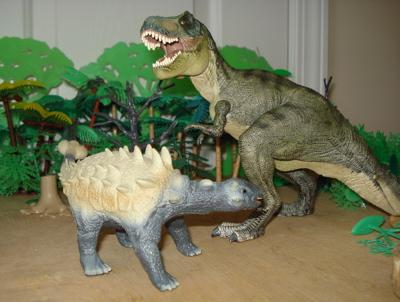 Ankylosaurus Saichania Dinosaur Toys
