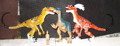 Atari Velociraptor Dinosaur Toys