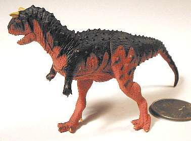 Dinosaur Toys, Carnotaurus, Battat, The Dinosaur Studio