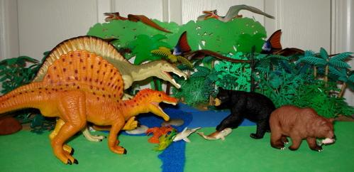 spinosaurus, carnegie collection, safari ltd, Dinosaur Toys