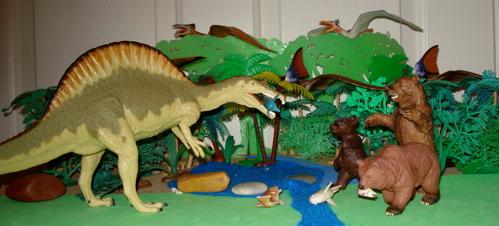 spinosaurus, carnegie collection, Dinosaur Toys