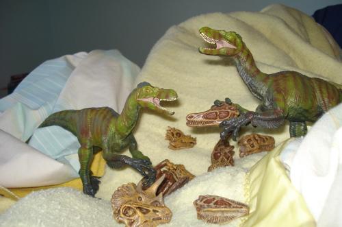 Safari Ltd, Great Dinosaurs, Velociraptor Dinosaur Toys