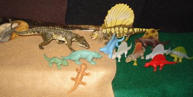 Permian Period Dinosaur Toys