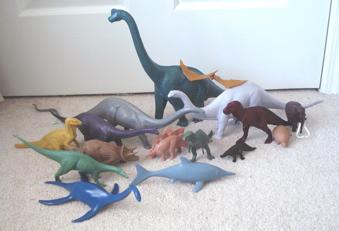 Invicta dinosaurs, dinosaur toys, British Museum of Natural History