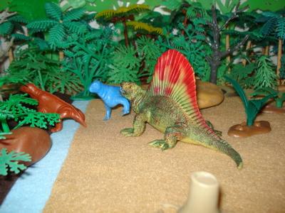 Bullyland Dimetrodon Dinosaur Toys