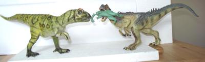 Bullyland Papo Allosaurus Dinosaur Toys
