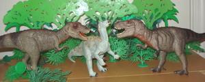 Bullyland Tyrannosaurus Rex Dinosaur Toys