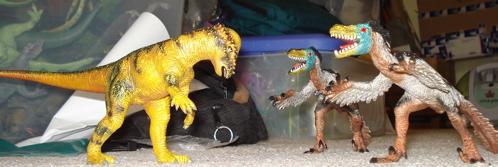 Bullyland Velociraptor Dinosaur Toys