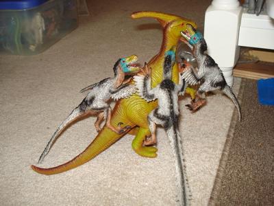 Bullyland VelociraptorDinosaur Toys