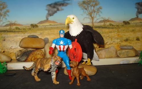 Captain America, Rexford Dinosaur Toys