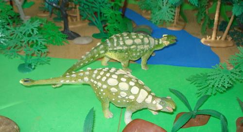 Carnegie Ankylosaurus, Dinosaur Toys