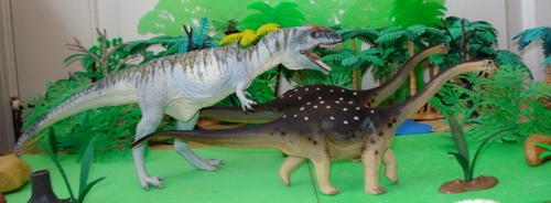 Carnegie, Saltasaurus, Giganotosaurus, Dinosaur Toys