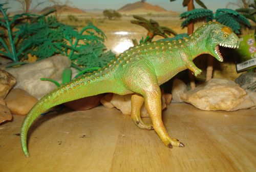 Dinosaur Toys, Carnegie Collection, Carnotaurus, 1996, repaint