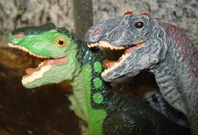Carnegie Allosaur Dinosaur Toys