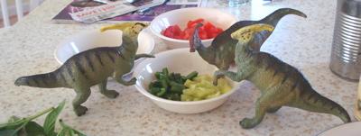 Carnegie Parasaurolophus Dinosaur Toys