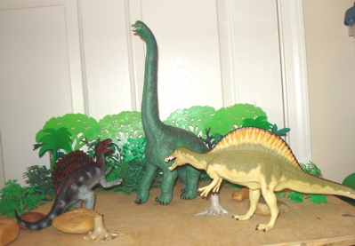 Carnegie Spinosaurus Dinosaur Toys