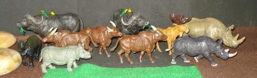 Papo, Britains, safari Ltd, Dinosaur Toys