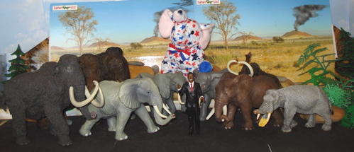 Obama, Elephants, Dinosaur Toys