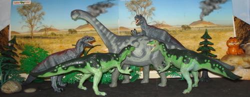 camarasaurus, allosaurus, Dinosaur Toys