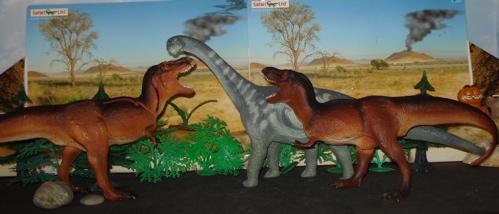 camarasaurus, tyrannosaurus rex, Dinosaur Toys