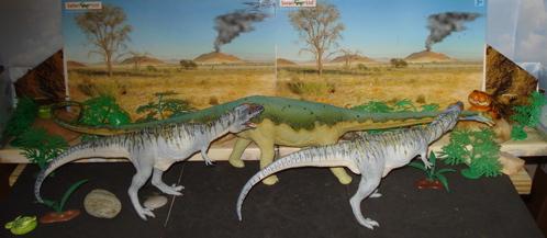 diplodocus, giganotosaurus, Dinosaur Toys