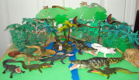 Deinosuchus, Dinosaur Toys