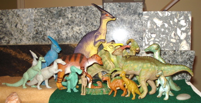 Duck billed dinosaur, dinosaur toys