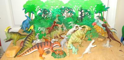 Hadrosaurus herd Dinosaur Toys