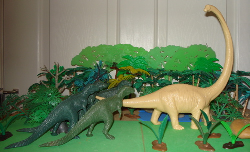 Long Neck Dinosaur Toys
