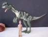 JP.02, Jurassic Park, Dilophosaurus, Spitter, Dinosaur Toys
