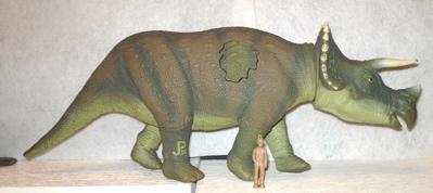 Jurassic Park Triceratops Dinosaur toys
