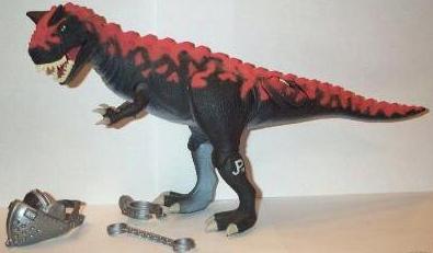 Dinosaur Toys, Carnotaurus, JP-19, Jurassic Park, Rexford