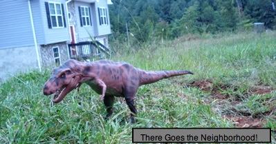 Dinosaur Toys Tyrannosaurus at Home