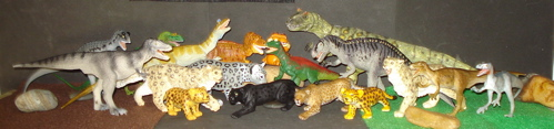 Carnegie Collection, Bullyland Allosaurus, Dinosaur Toys