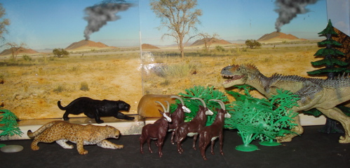 Britains, Papo, allosaurus, Dinosaur Toys