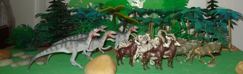 Deltadromeus, Carnegie Collection, Dinosaur Toys