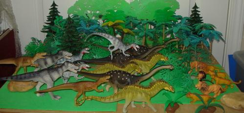 Albertosaurus, Deltadromeus, Carnegie Collection, Dinosaur Toys