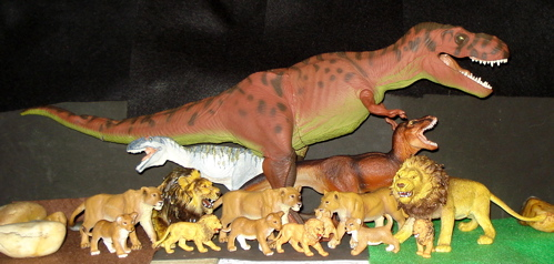 Rexford, Carnegie Collection, Dinosaur Toys