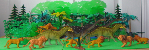Amargasaurus, Saltasaurus, Carnegie Collection, Dinosaur Toys