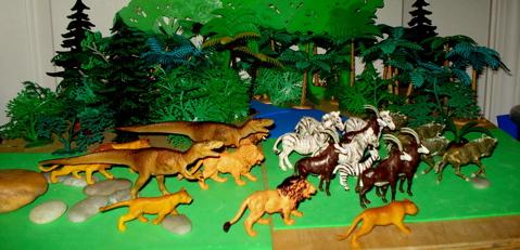 Sinraptor, Carnegie Collection, Dinosaur Toys