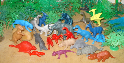 MPC Dinosaur Toys