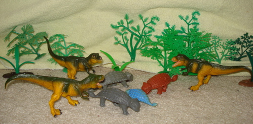 MPC Ankylosaurus, Dinosaur Toys