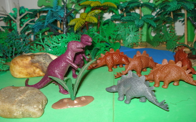 Did Global Warming Have Something To >> Different kinds of Dinosaurs make the Dinosaur toys world go 'round.