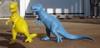 MPC Tyrannosaurus Rex Dinosaur Toys