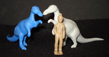 MPC Trachodon Dinosaur toys